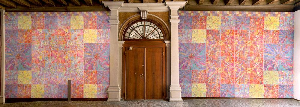 PALAZZO BEMBO VENICE 2011 Entrance Wall1.jpg