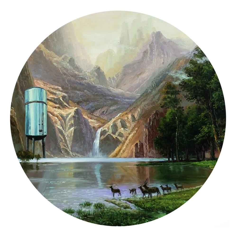 Shay Kun, Put Aside the Alienation, 2008, Oil and acrylic on canvas, 20 x 24.jpg