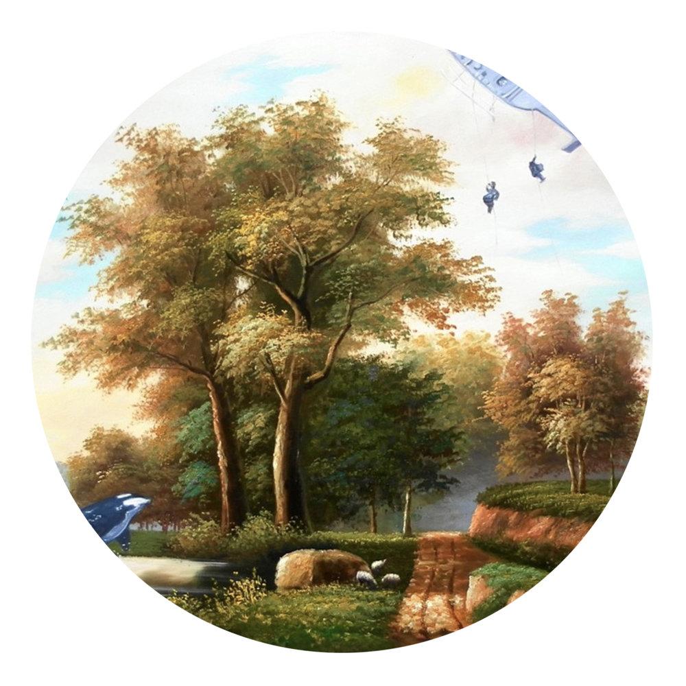 Shay Kun, Eradication, 2006, Oil and Acrylic on Canvas, 20 x 24 in.jpg