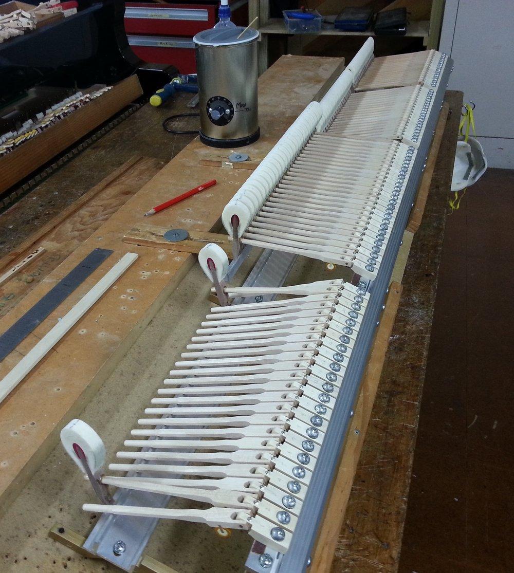 - Hammer gluing is underway