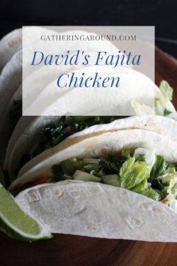 David's Fajita Chicken