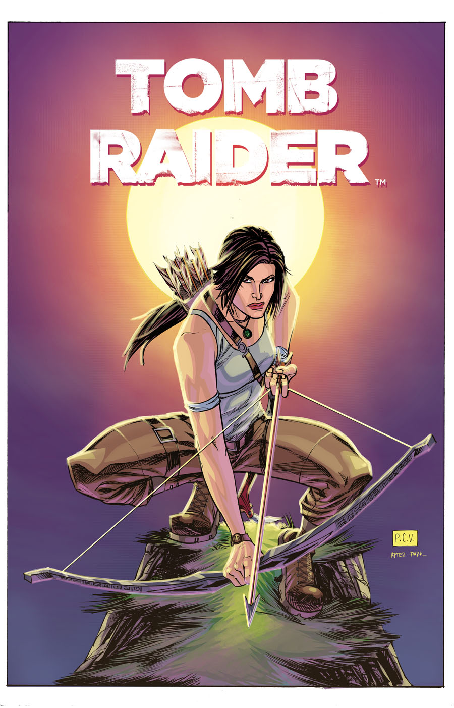 Tomb Raider 1 Cover Homage Limited Edition Print The Art Of
