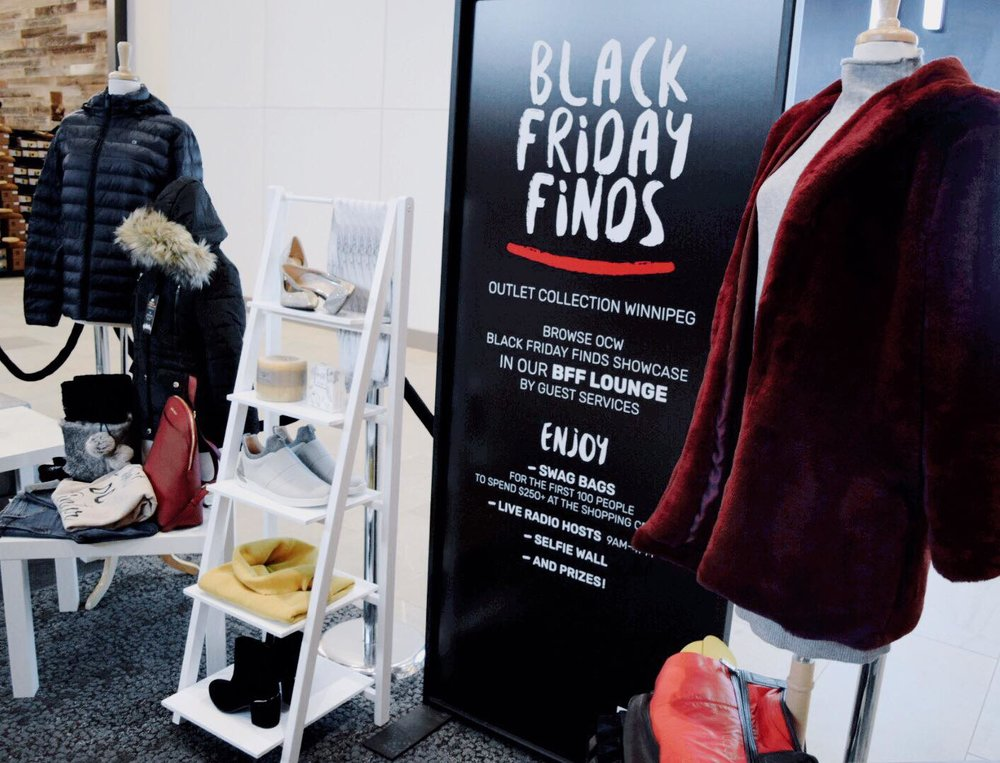 OUTLET COLLECTION WINNIPEG | BLACK FRIDAY FINDS