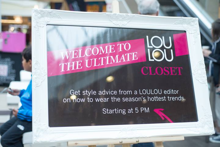 LOU LOU SHOP 'TIL YOU DROP EVENT