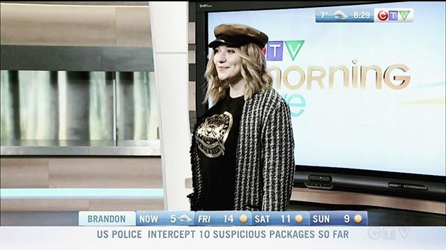 #ICYMI Fall Street Wear on @ctvmorningwpg with looks from @aevi_winnipeg & @hm!  Tap the link in bio to watch ☝🏻💕 #Swish #FashionConsultant #FashionStyling #Winnipeg #FallFashion 🍂👠
