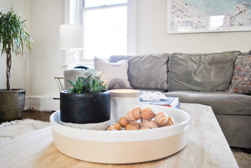 Coffee table styling | Sharp + Grey Interiors