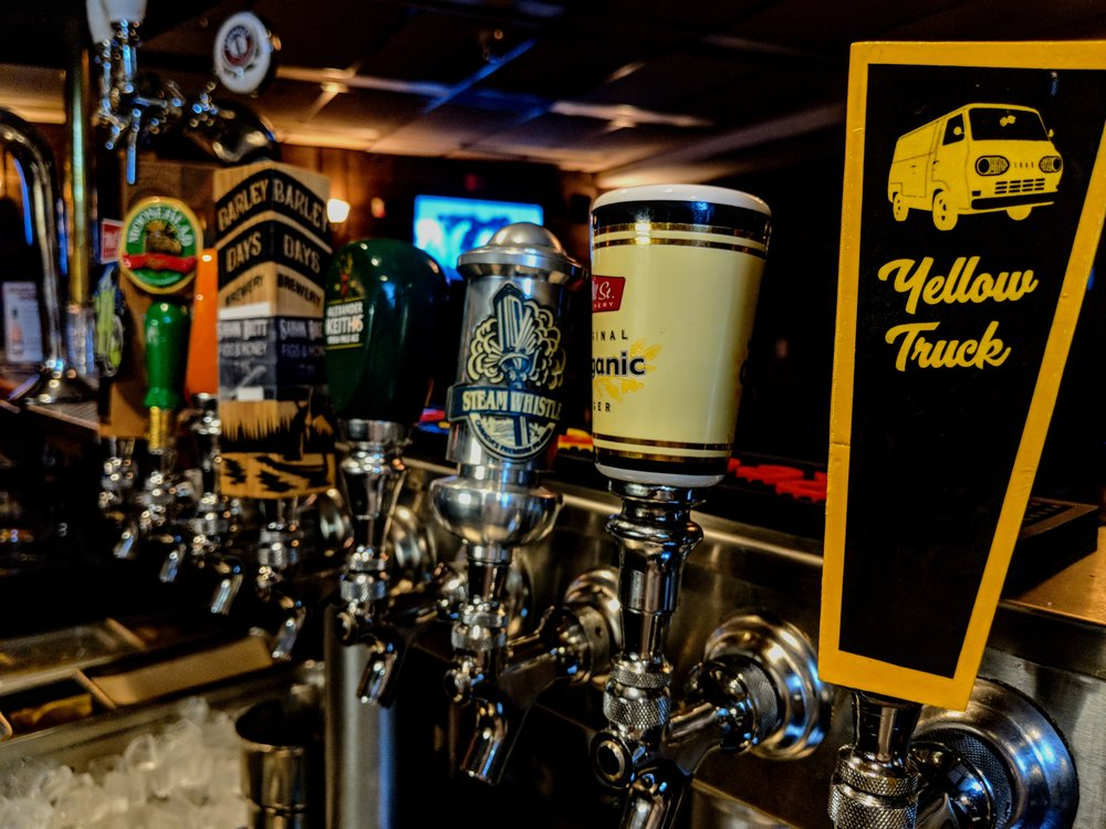 All your favourite beers on tap