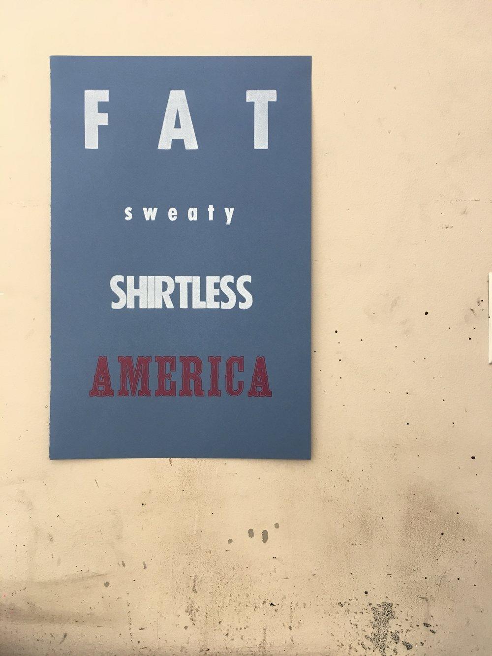 Fat Sweaty Shirtless America.JPG