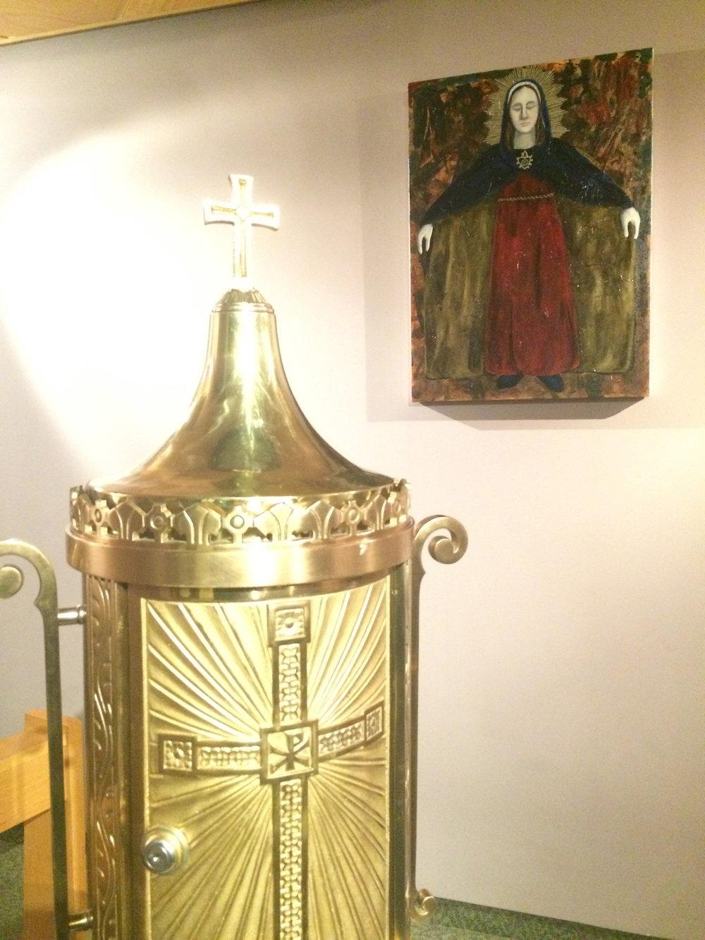 St. Francis chapel installation
