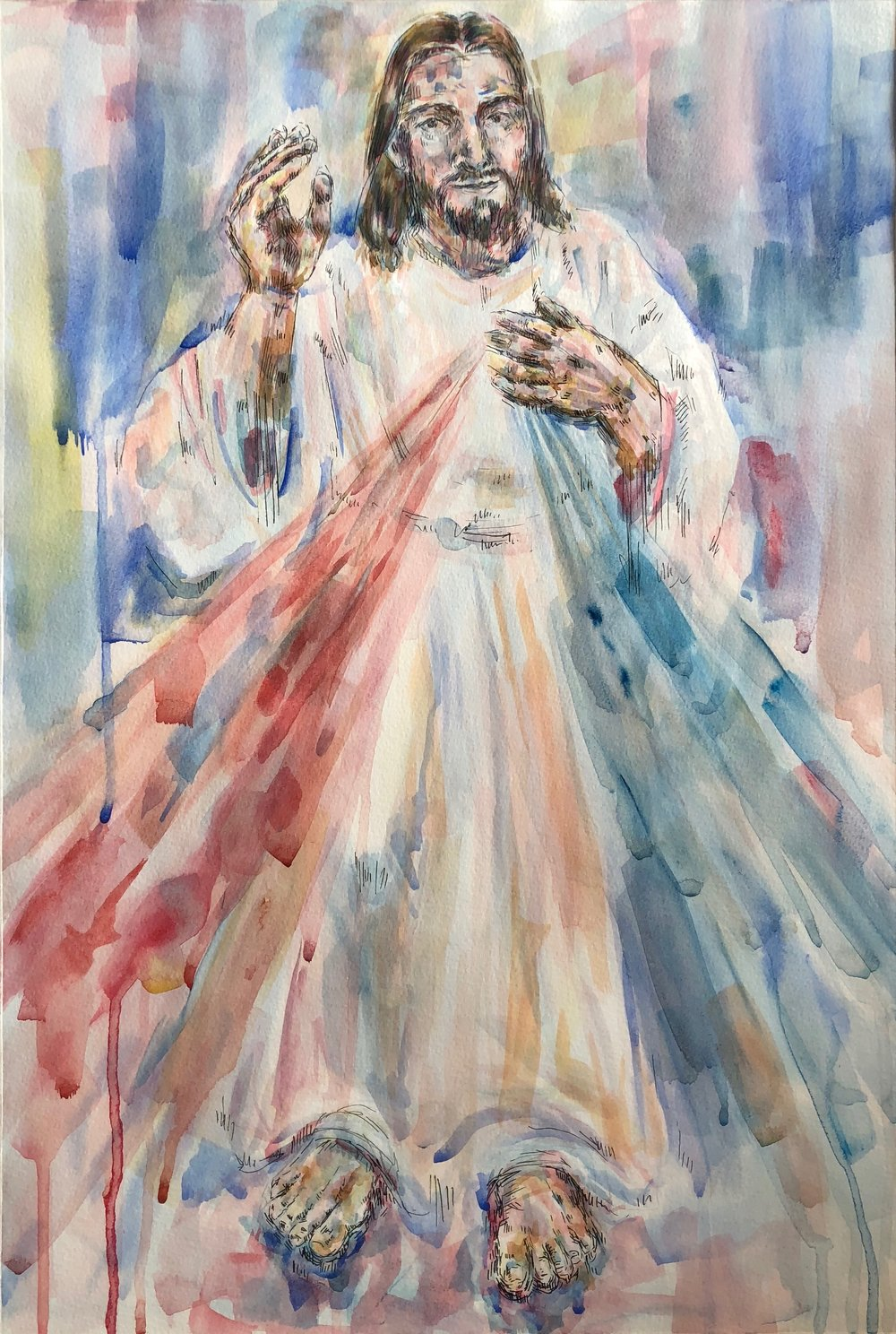 Divine Mercy commission for St. Tom's, Purdue University