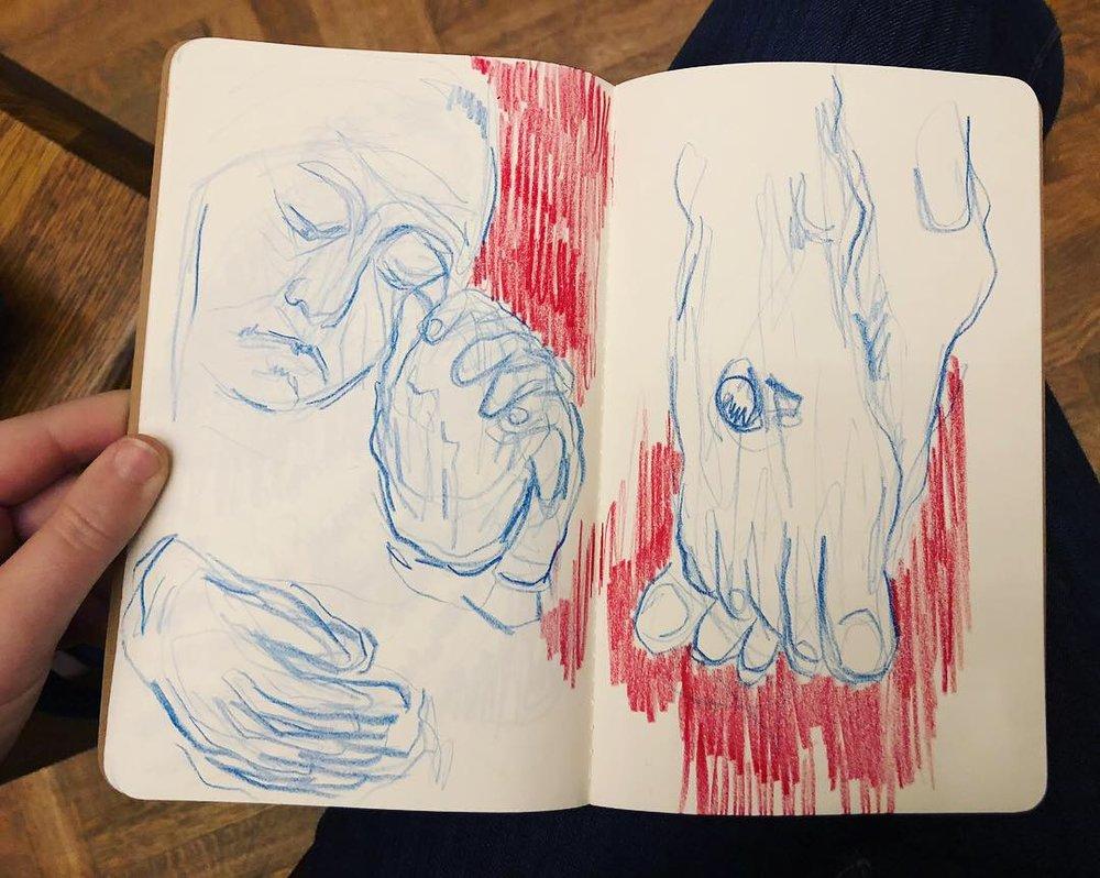 Study after Rogier van der Weyden / Philly Museum of Art