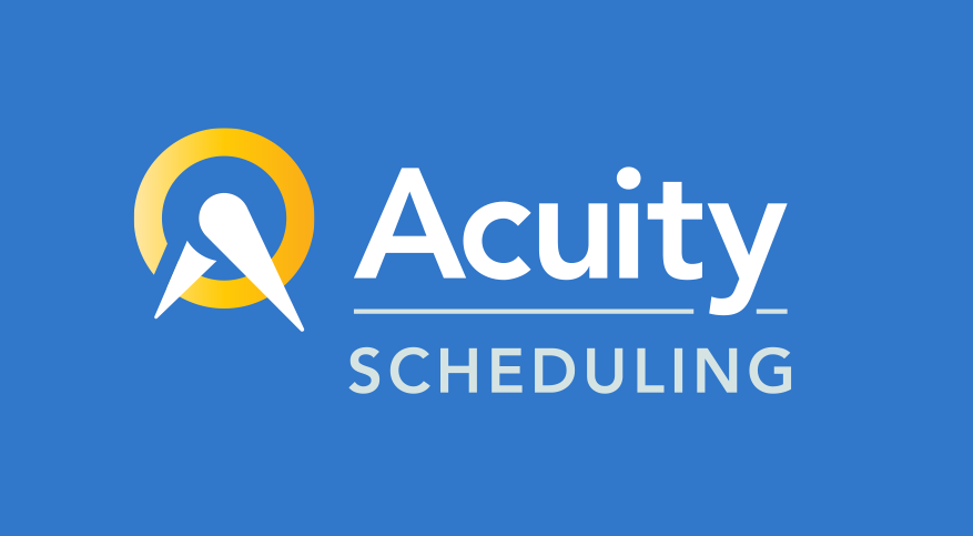 If you are a small business or any individual that wants an easy online option for appointment scheduling we highly recommend Acuity Scheduling! -
