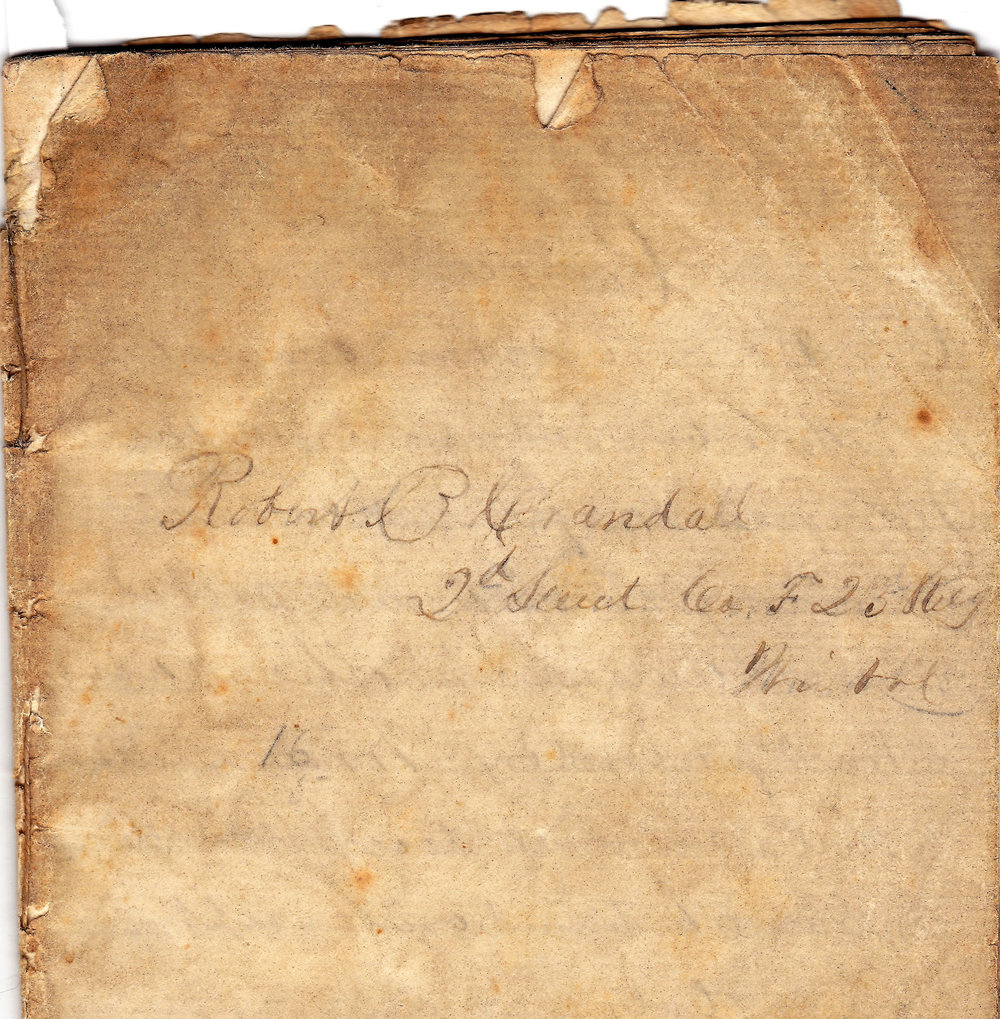 1964.19.14 (2) Crandall, Robert  B.  Diary, Civil War (2)-1.jpg