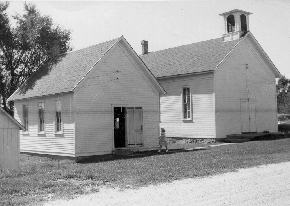 St. John's Lutheran School & Church, ca. 1950's