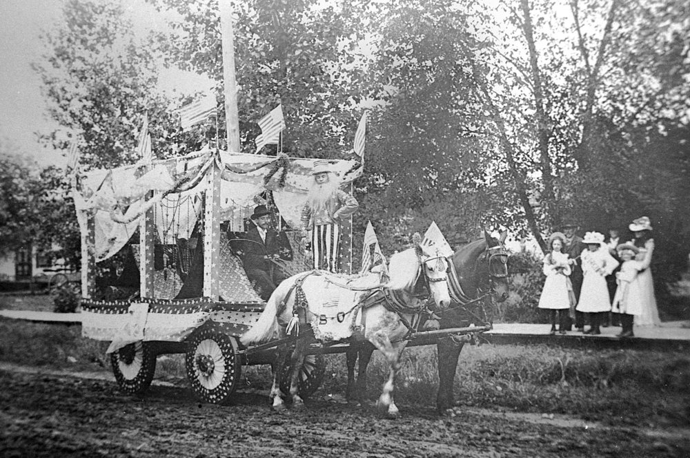 Loganville 4th of July Parade late 1890s