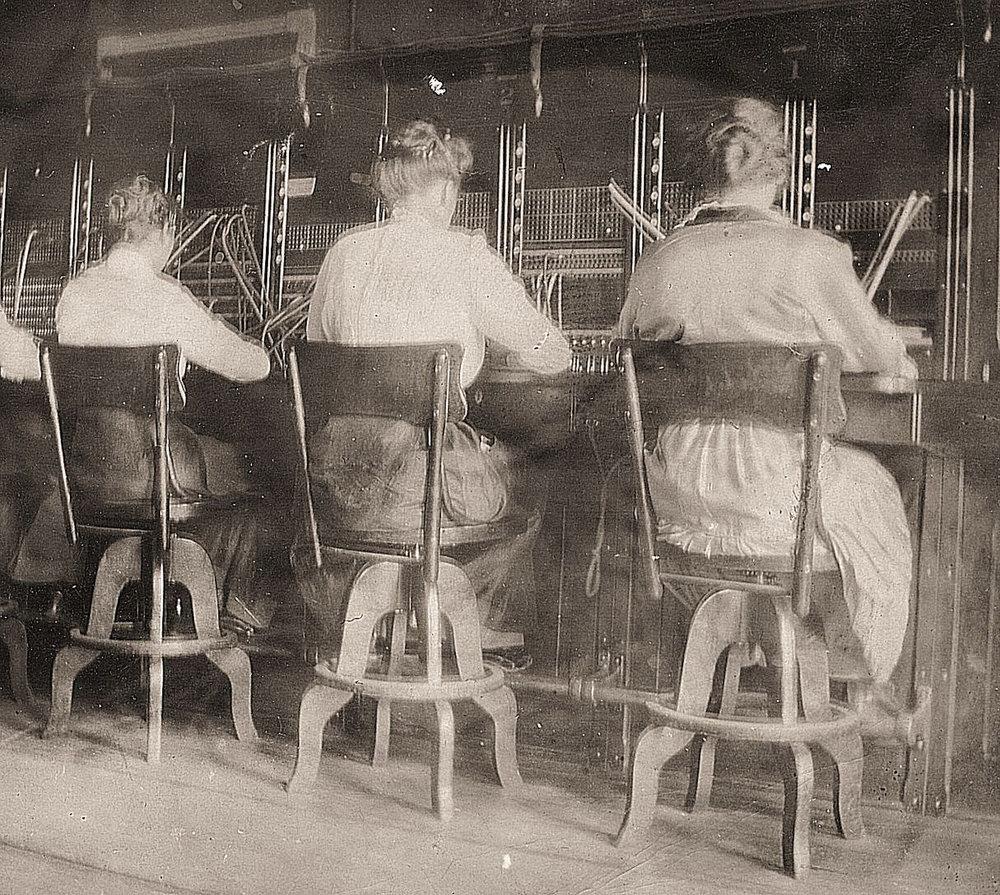 Baraboo Operators ca. 1916