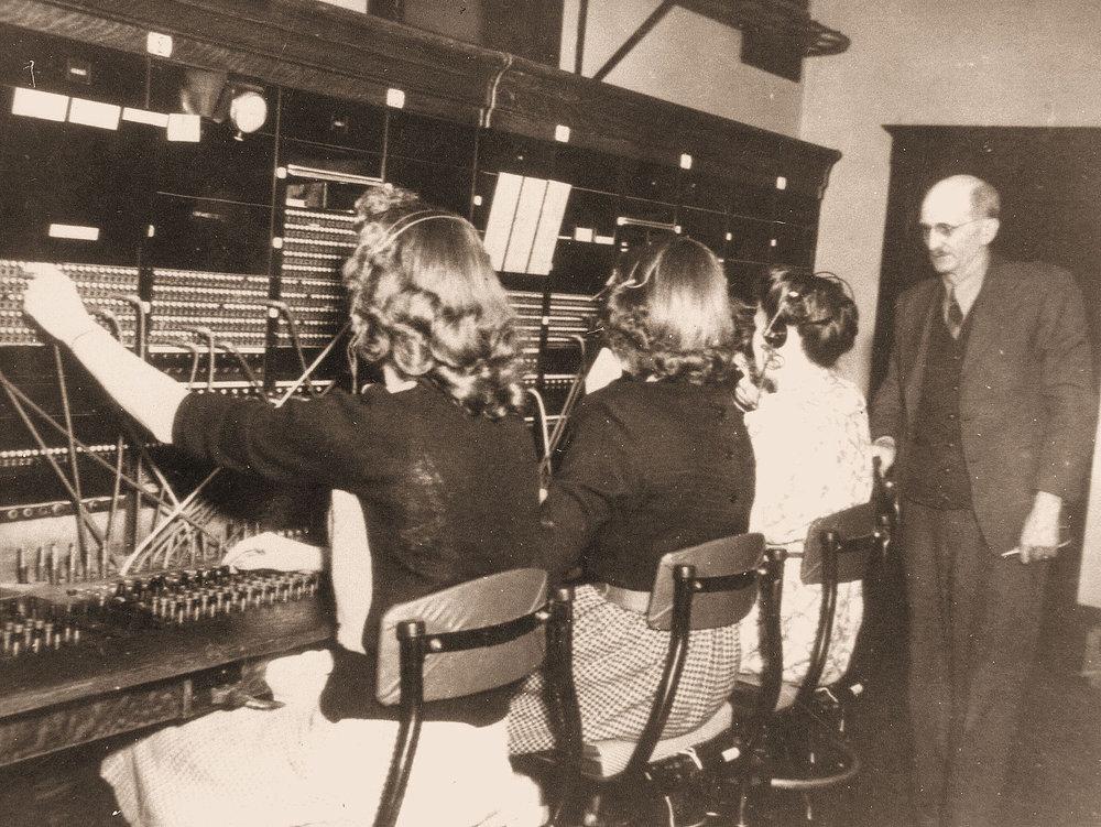 Reedsburg Operators ca. 1940s