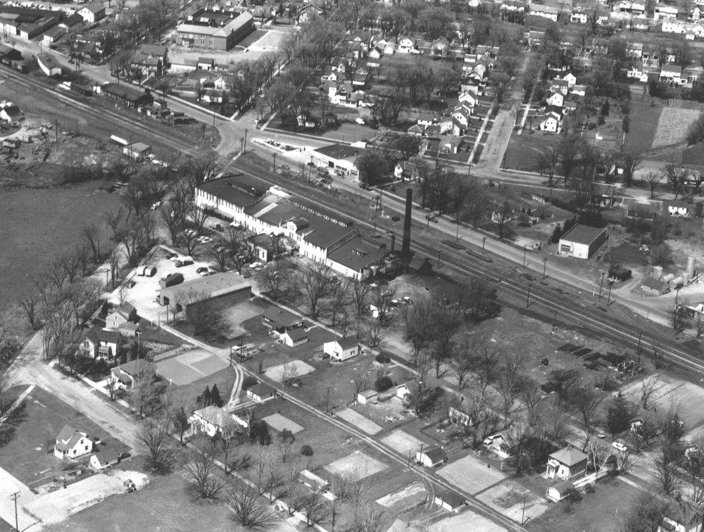 1958 Creamery, center
