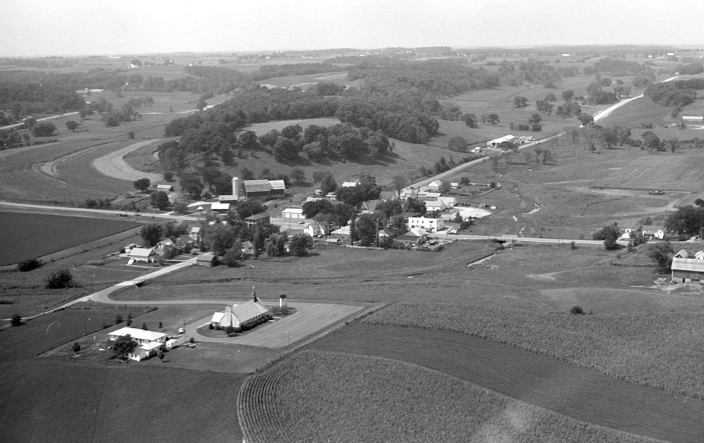 Looking NW, 1975