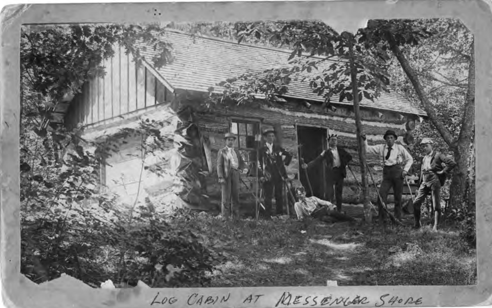 Messenger Cabin in 1887