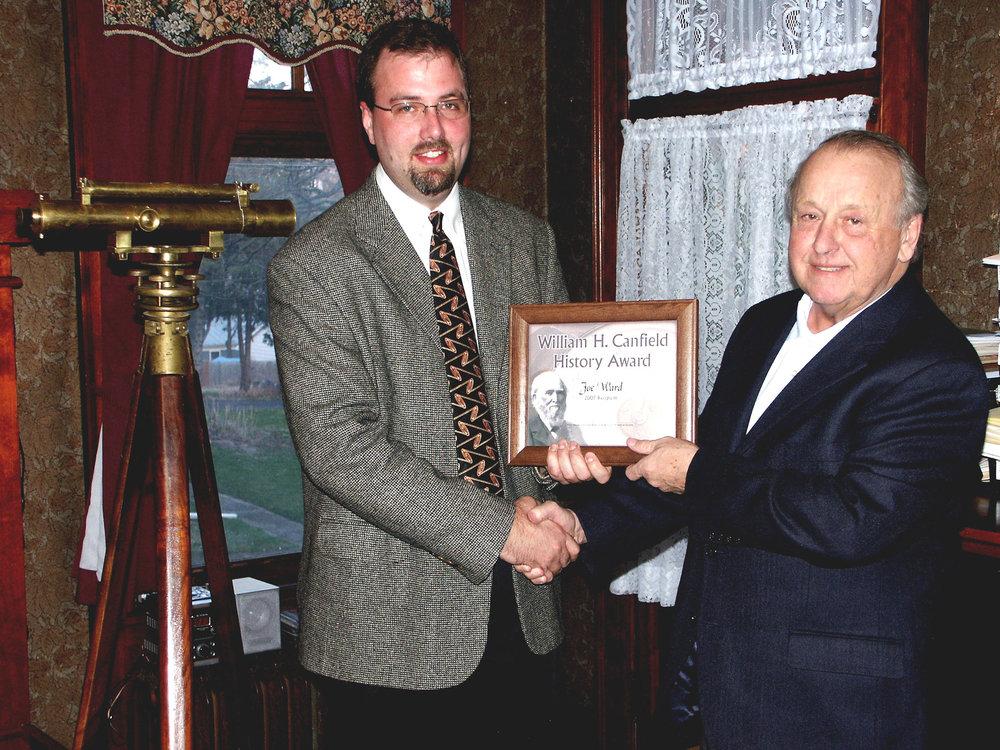 Joe Ward 2007