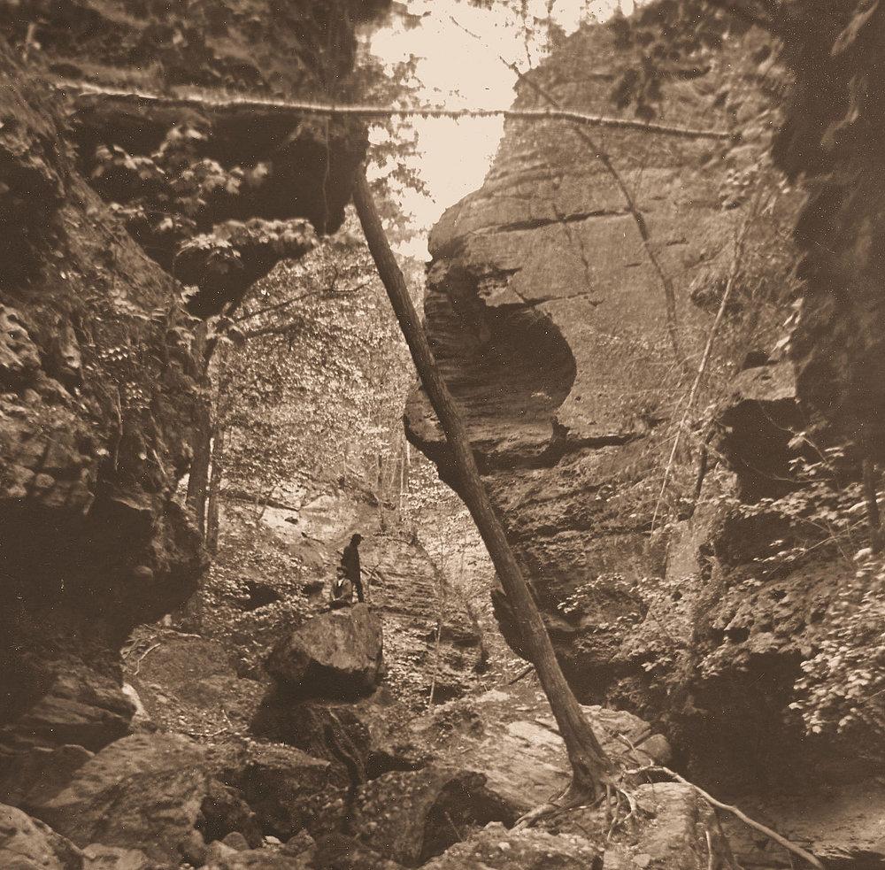 Parfrey's Glen ca. 1900
