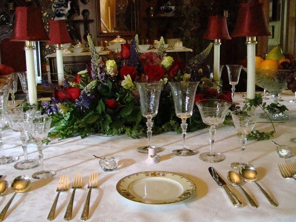 Edwardian Dinners -
