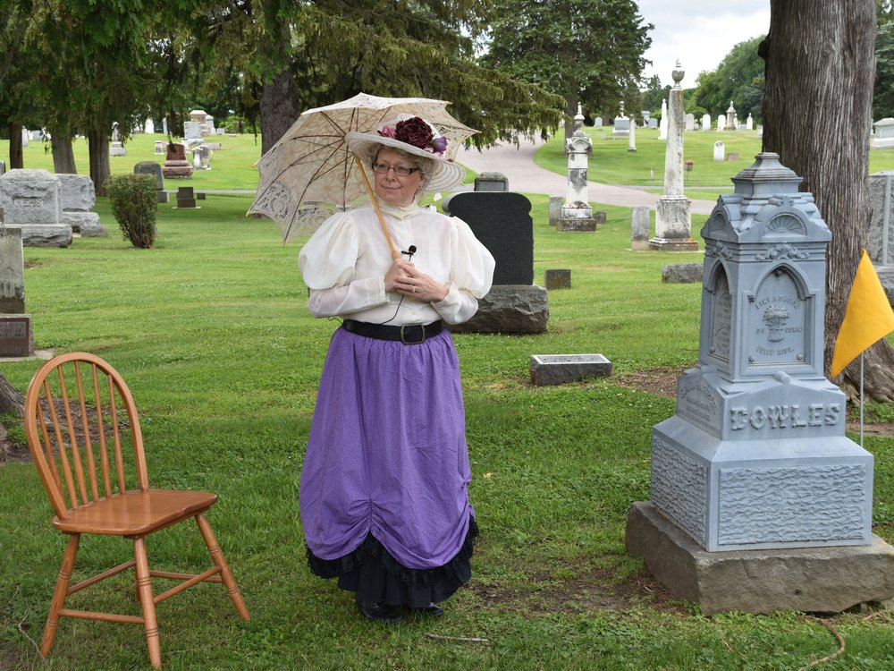 Sunday in the Cemetery -