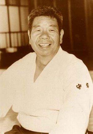 Saito Shihan in the dojo.