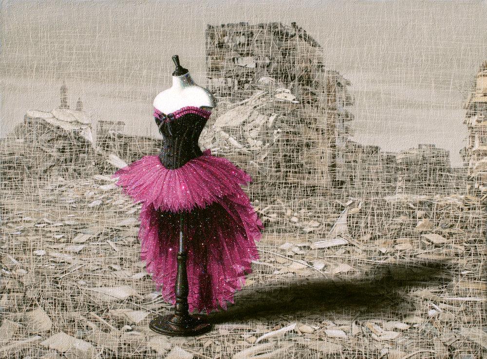 Still Life, No.9-2017-Mixed Media & Glitter on Canvas-156 x 212 cm.jpg