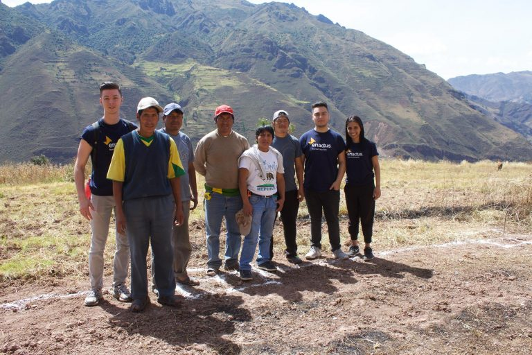 our pROJECT SACRED VALLEY TEAM VISITING pISAC, PERU IN 2016 to help start their garden business