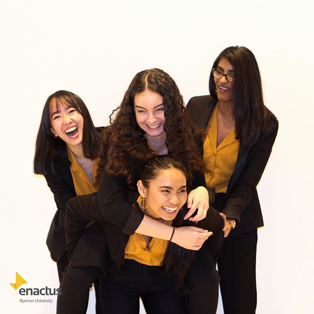 This is what family is all about.  The Enactus Ryerson team placed first in the Scotiabank Youth Empowerment Challenge and was titled first runner up in the Scotiabank Eco-living Green Challenge!
