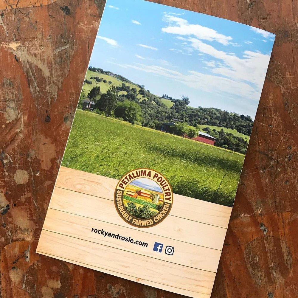 santa rosa printing brochure