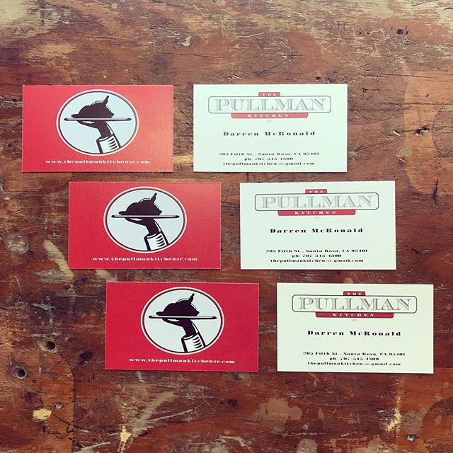 more #local love 🍽 2-sided business cards for @pullmankitchensr