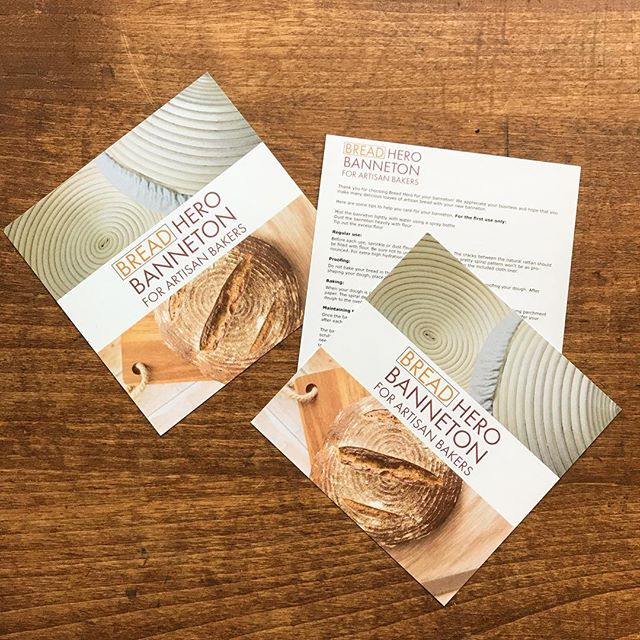 🍞Product inserts complete the packaging for this #sonomacounty small business🍞