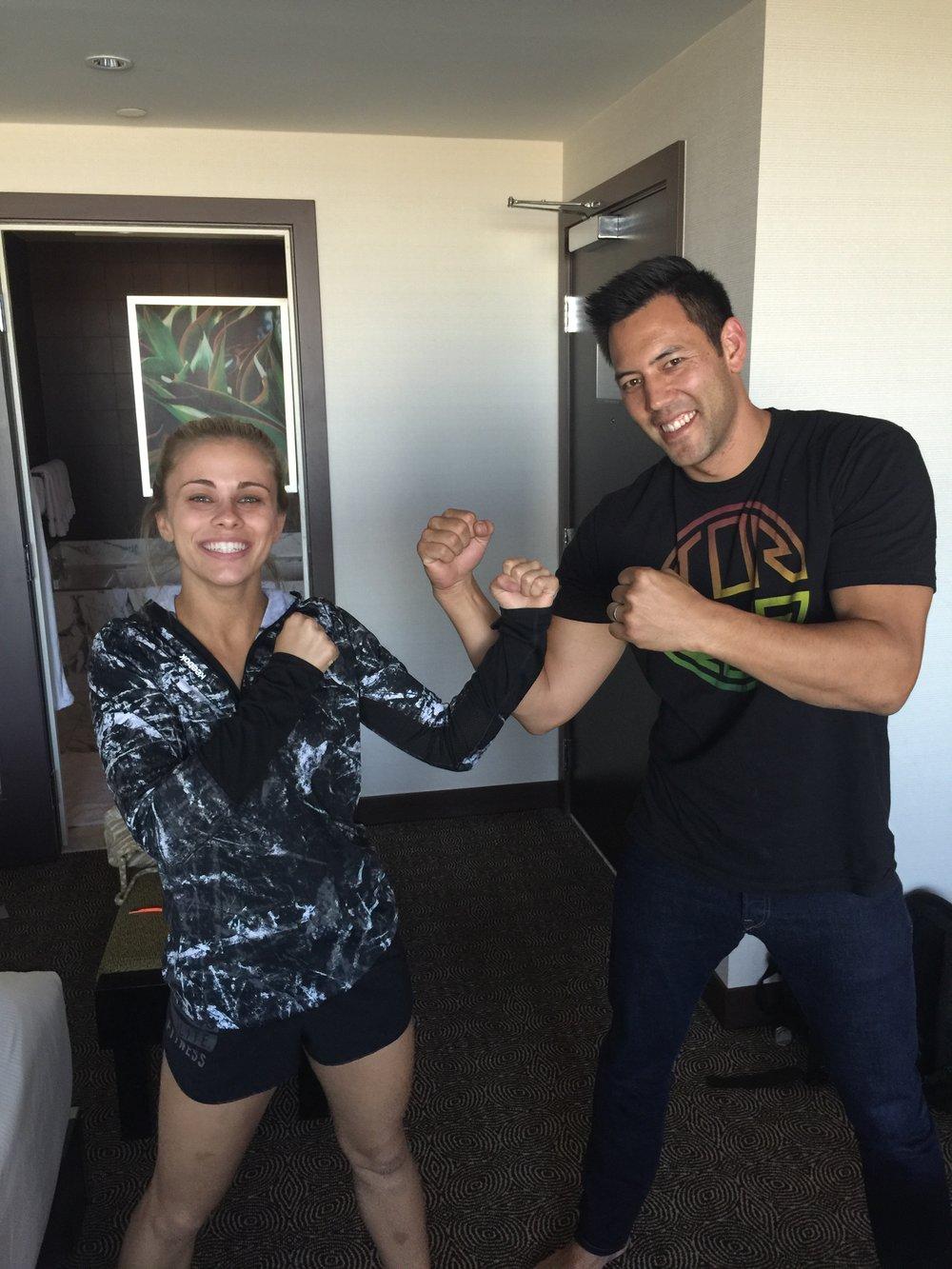 Paige Van Zant & Dr. Chris