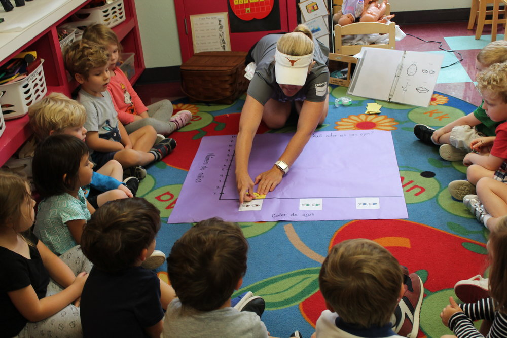 Spanish - We help kids get a kick start on developing early language skills. We take advantage of the critical time in early development when acquiring language skills comes naturally and easily. Unfamiliar, foreign sounds are easier to pronounce and the ability to absorb new grammar rules are easy for children under age six.