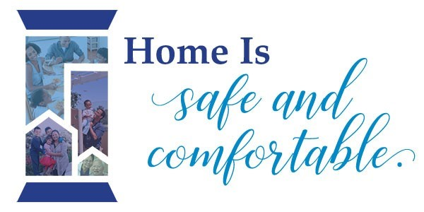 Home is safe and comfortable.jpg