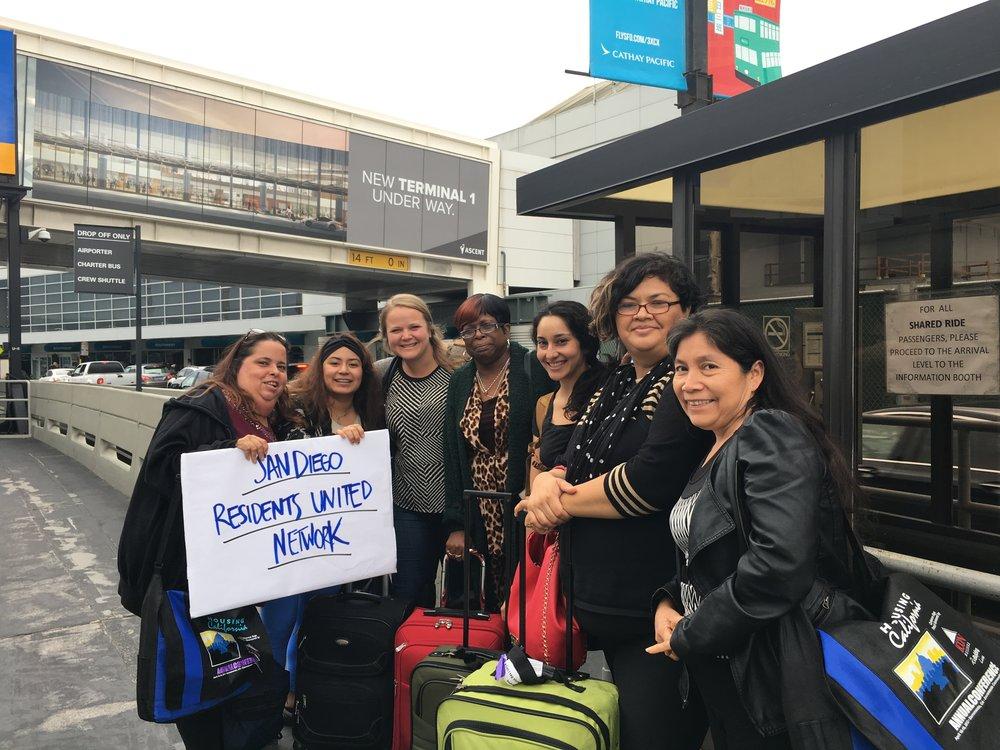 San Diego Residents at 2017 RUN Summit