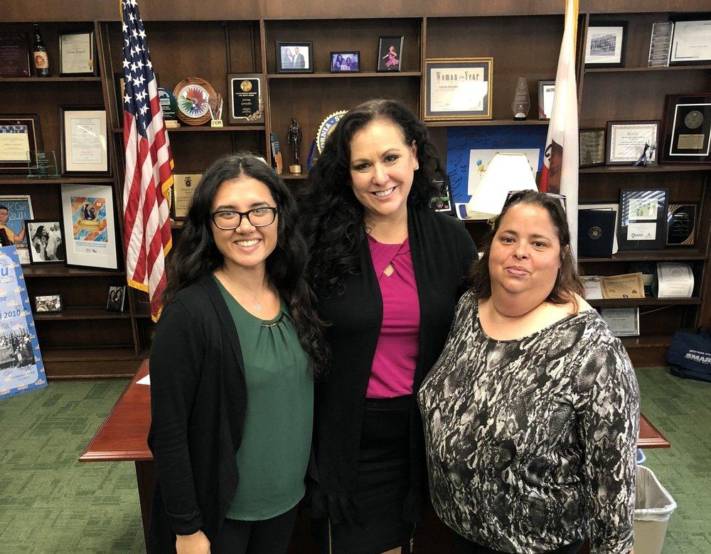 RUN Leaders meeting with Assemblywoman Lorena Gonzalez-Fletcher