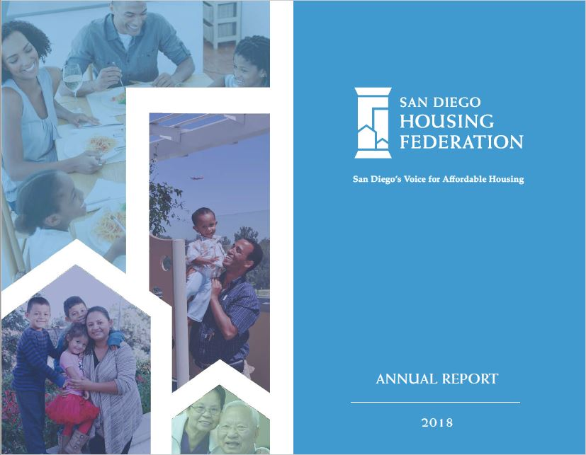 2018 SDHF Annual Report  -  2018 was a great year for the Federation. Please take a moment to review our successes and accomplishments over the last year, none of which could have been possible without the support of our membership. We look forward to another successful year in 2019 finding creative solutions to our community's biggest challenges.