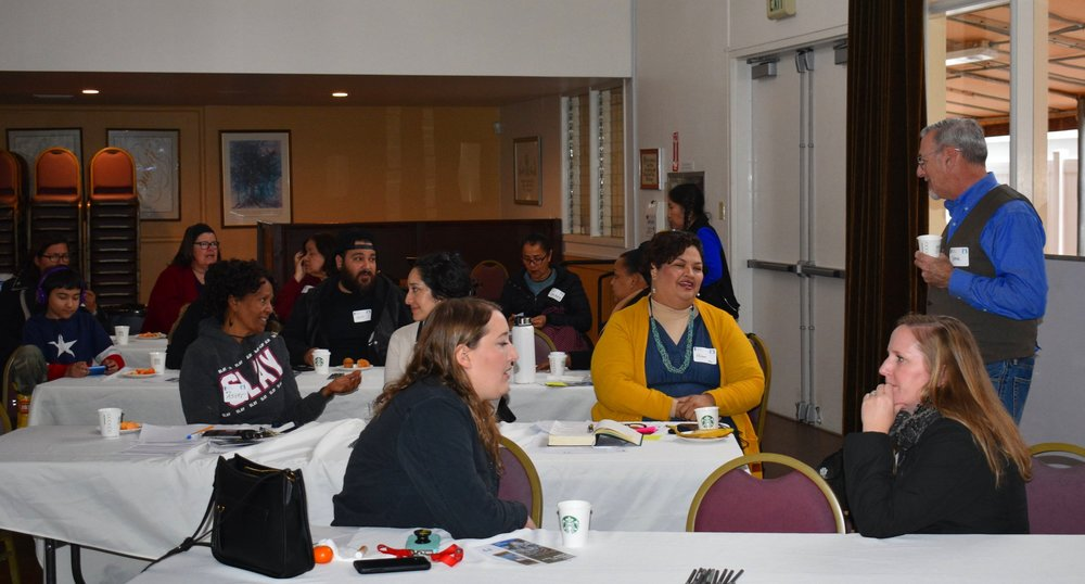 Residents and Staff at RUN Regional Convening, Feb 2019