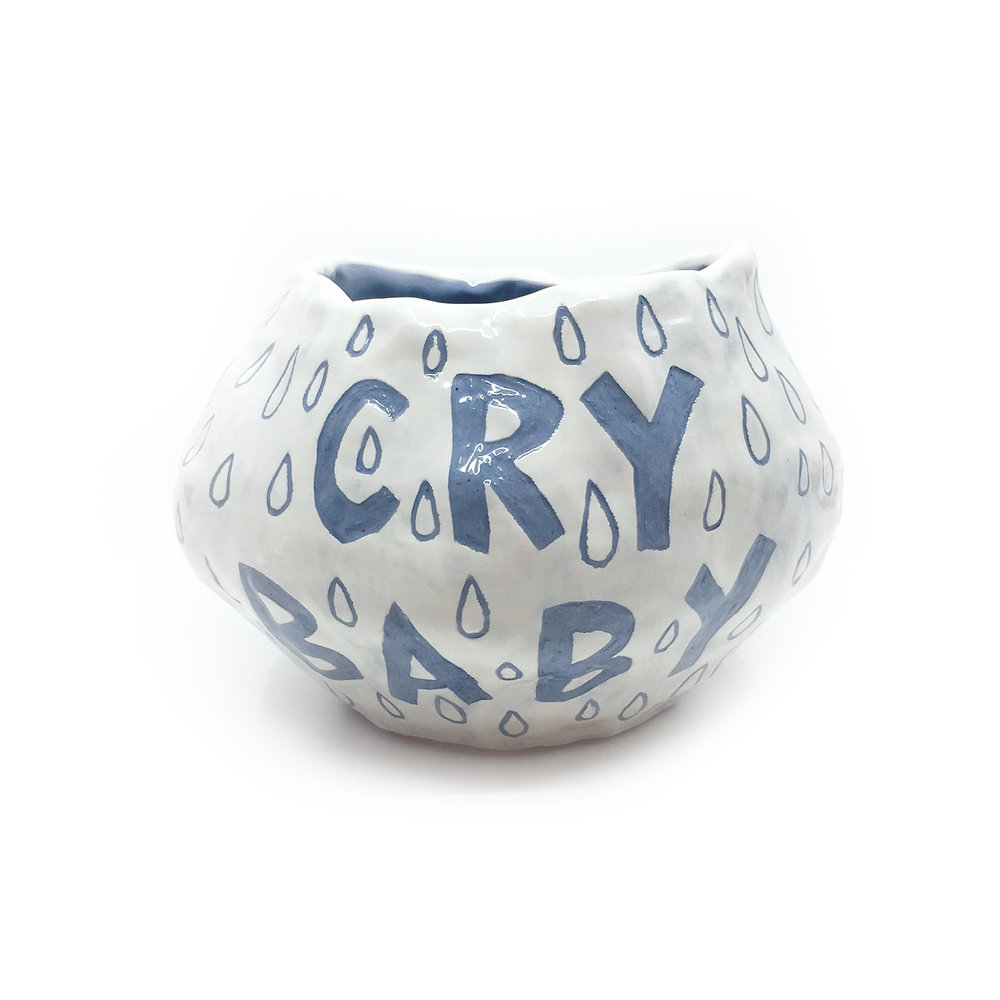 Cry Baby    ceramic  (side 1)