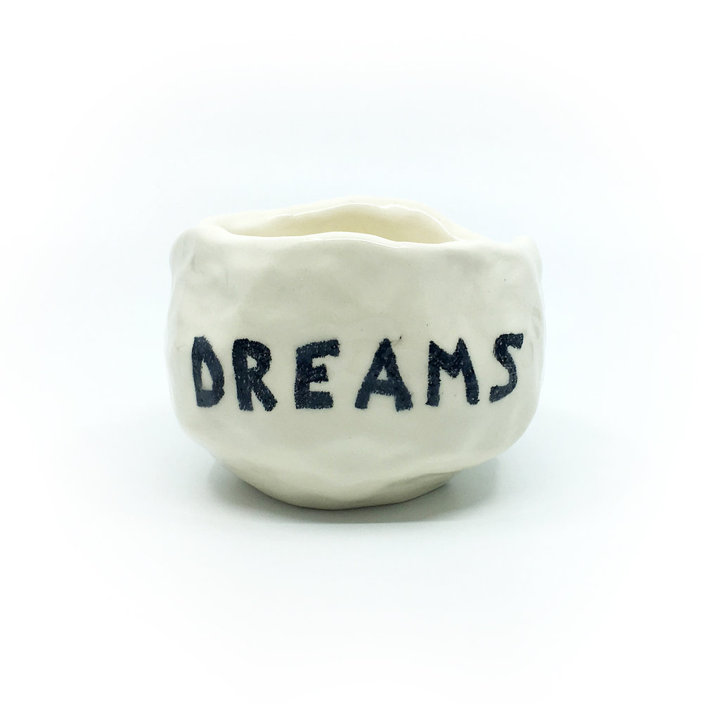 Dreams    ceramic  (side 1)