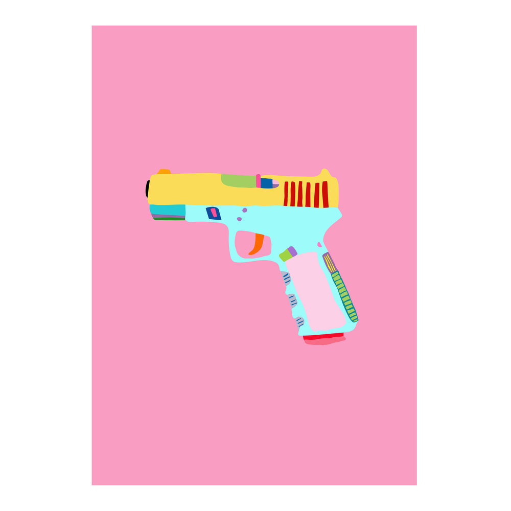'Guns Are Gay' series   2017