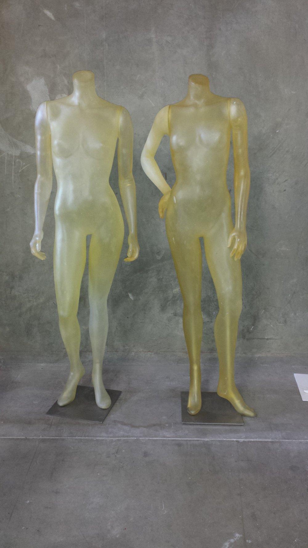Translucent Mannequins