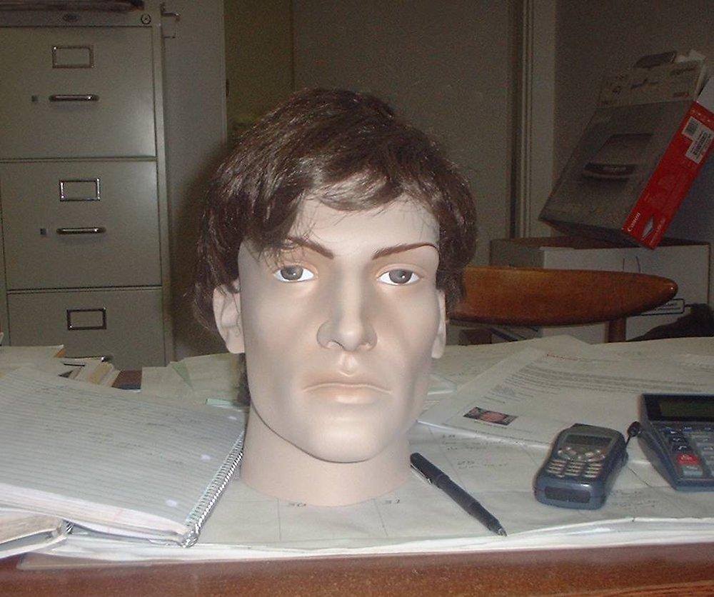 "Male ""B"" Head"