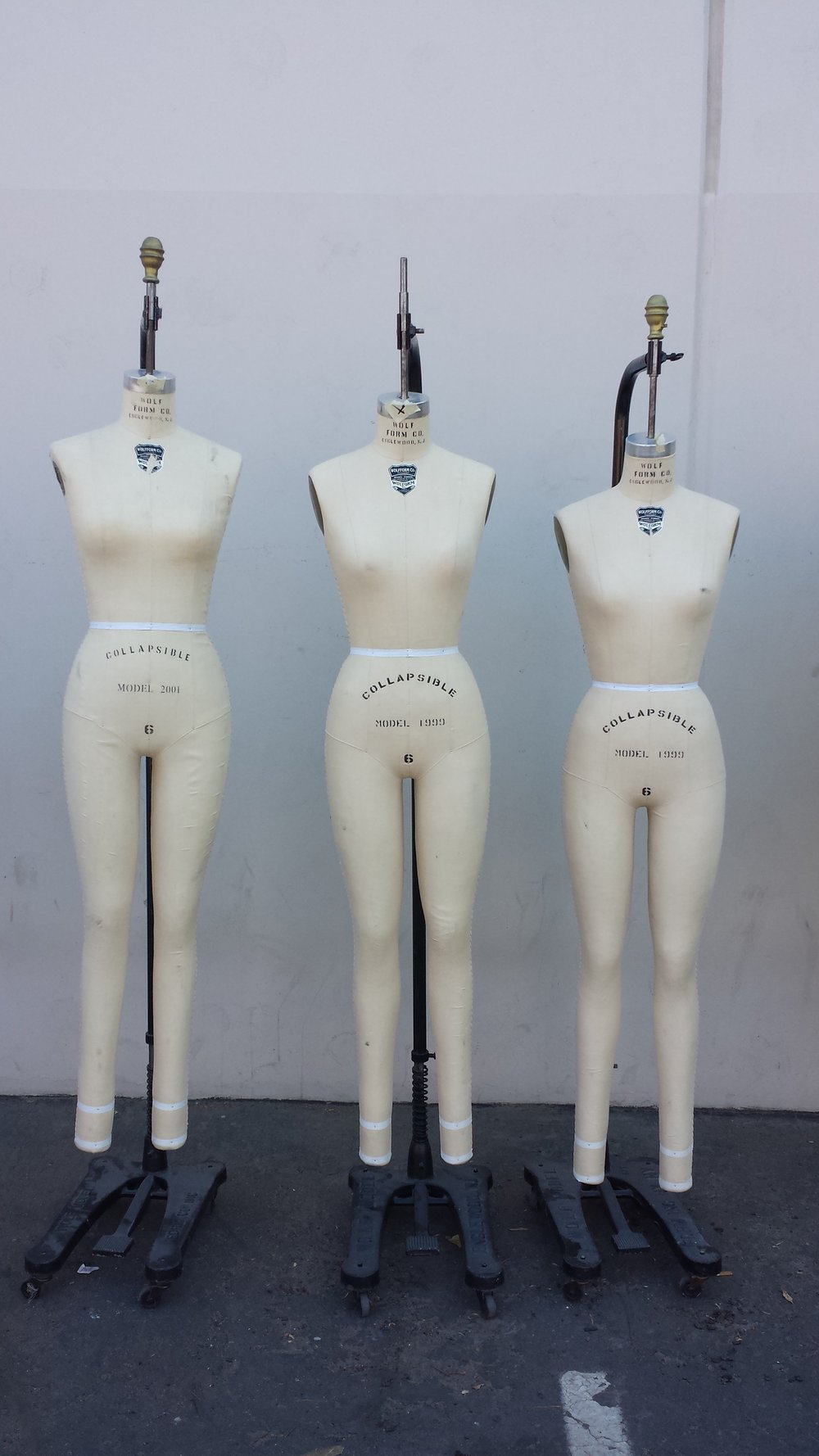 Full sewing forms