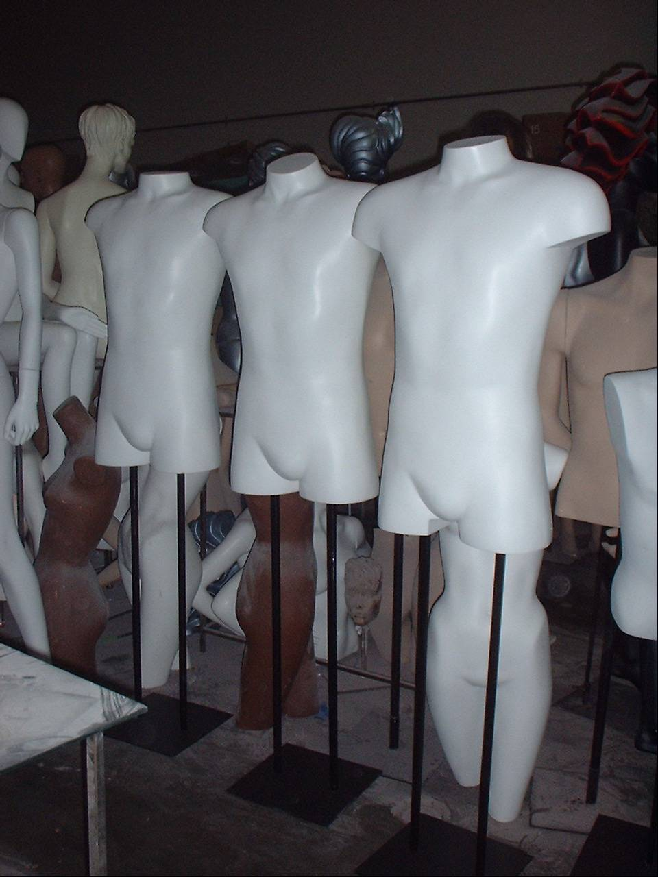 Male Medium 3/4 Forms
