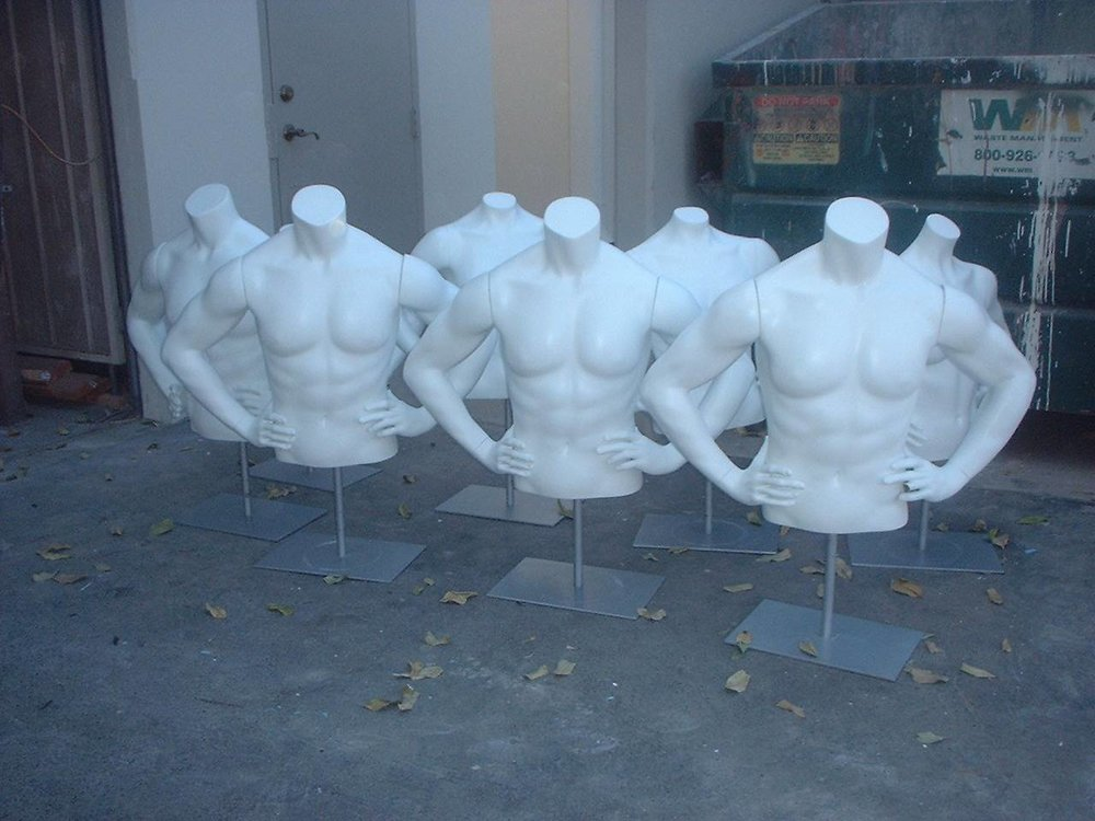 Male Athletic Torso Forms